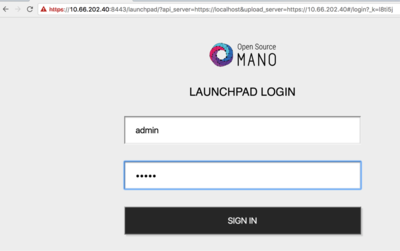 OSM login window
